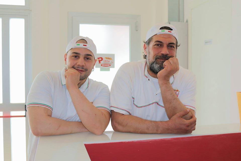 Mario Raschini e Alberto Farina a Pizza.it School