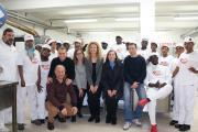 Pizza.it School -corso richiedenti asilo-Gruppo con Prefetto
